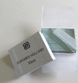 Euromex Slides 76 x 26 mm, edges cut