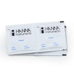 Hanna HI764-25: reagentia voor nitriet ULR, 25 stuks