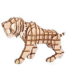 Houten tijger puzzel 3D