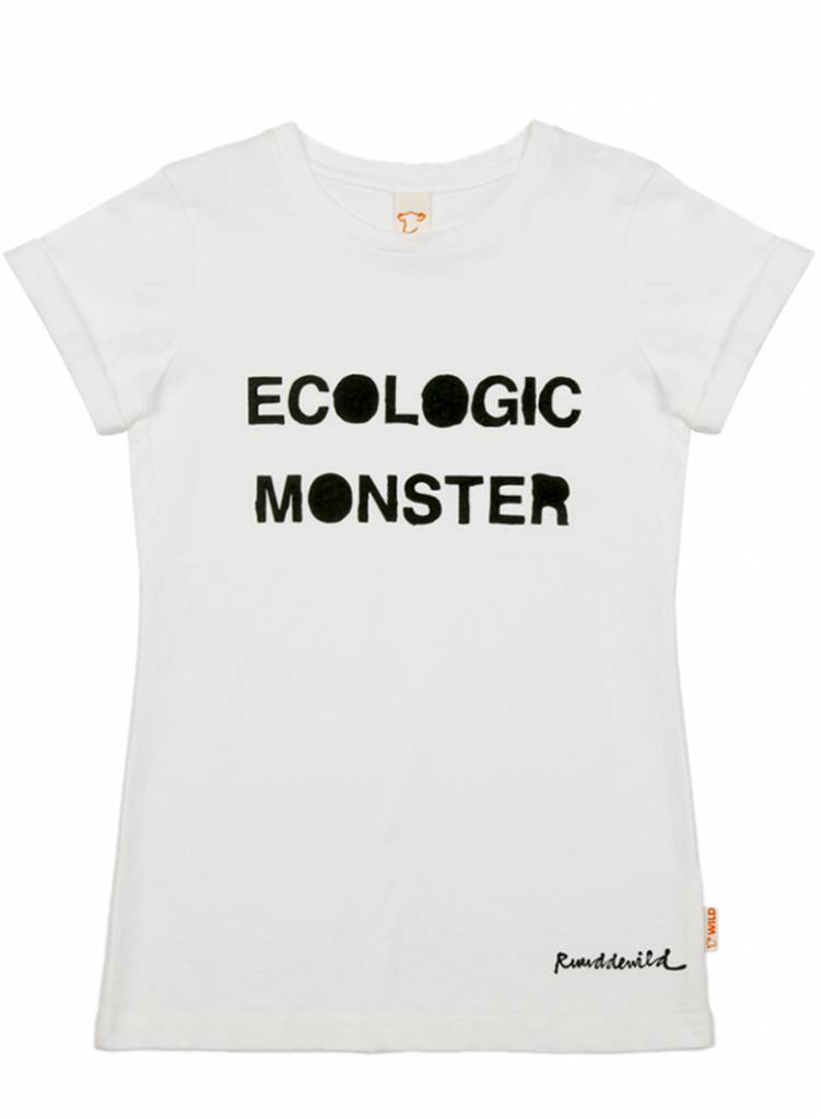 t shirt Even eco monster