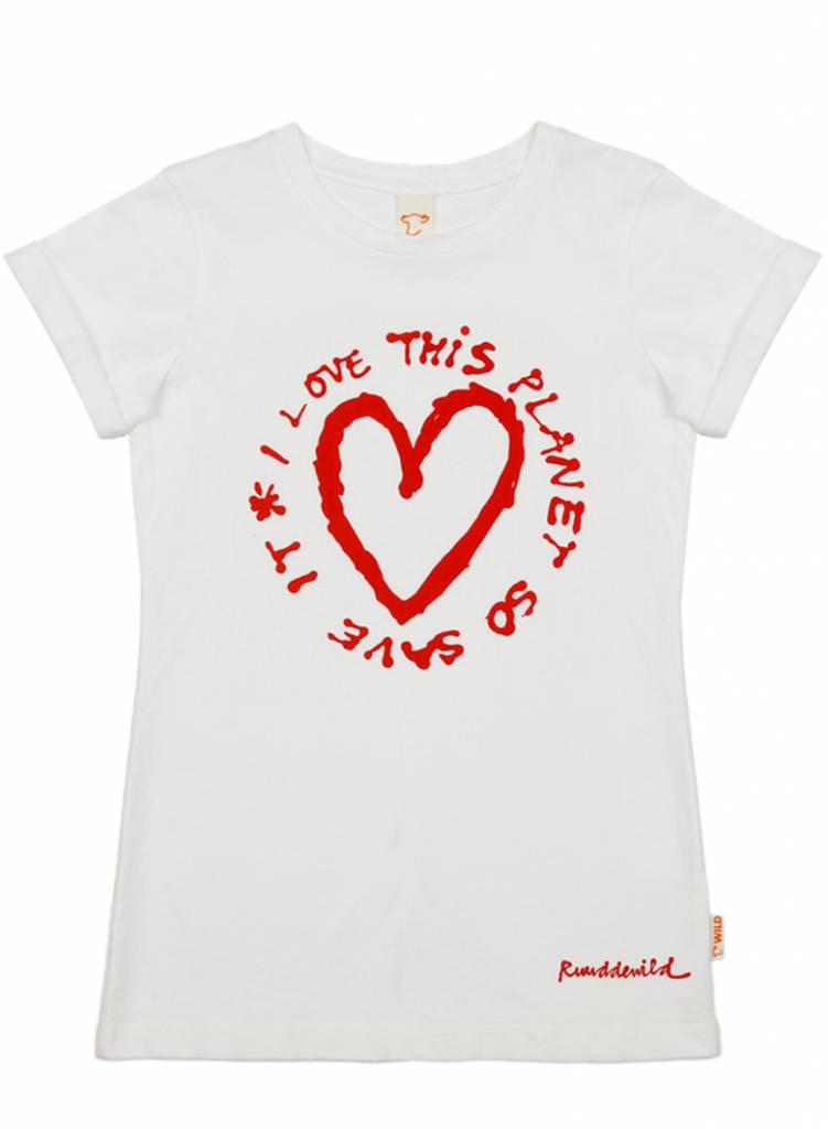 t shirt Even love planet