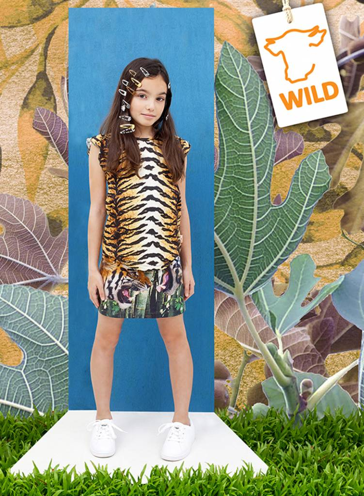 t shirt Fanny tigerskin