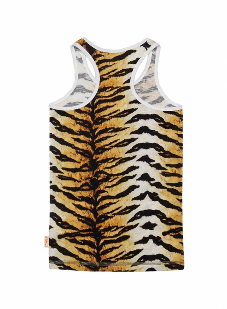 tanktop Happy tigerskin