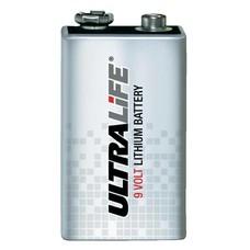9V lithium blok batterij Ultralife