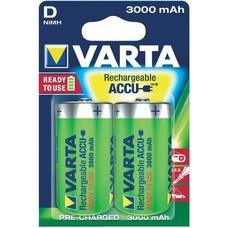 D cell oplaadbare batterijen Varta 1,2V blister 2 stuks
