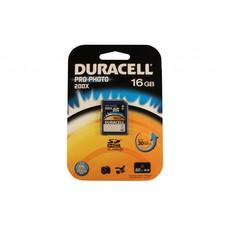 Duracell SD SDHC kaart pro-photo 16GB class 10