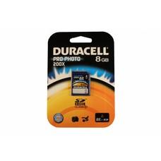 Duracell SD SDHC kaart pro-photo 8GB class 10