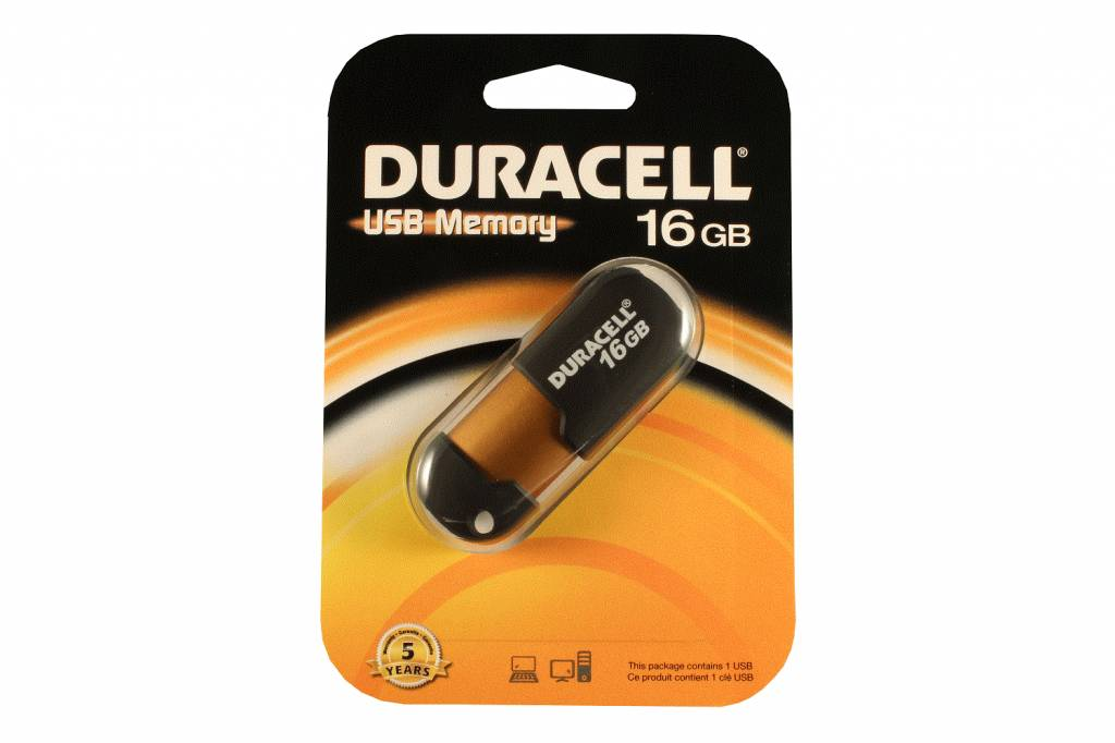 duracell capless usb stick 16gb