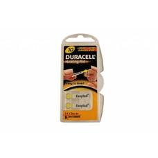 Duracell easytab hoortoestel batterijen type 10 | geel | PR70