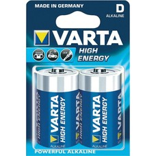 D batterijen Varta High Energy blister 2 stuks