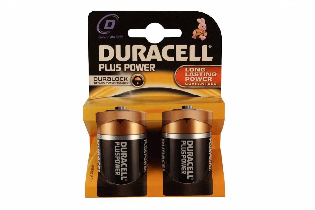 Alkaline batterijen D-cell M1300 LR20 mono 1,5V Duracell ...