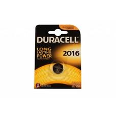CR2016 3V Duracell lithium knoopcel batterij (3 Volt)
