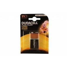 9V blok batterij Duracell plus blister