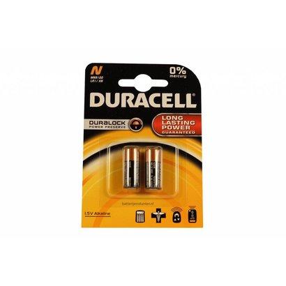 LR1 | MN9100 | N | E90 1,5V Duracell batterijen blister 2 stuks
