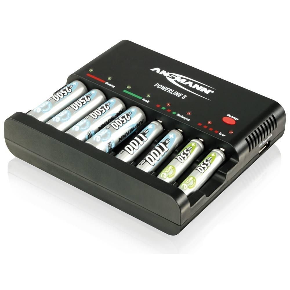 Ansmann Powerline 8 Batterij Oplader Kopen