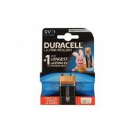 9V blok batterij Duracell ultra power blister