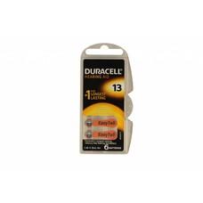 Duracell easytab hoortoestel batterijen type 13 | oranje | PR48