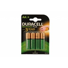AA oplaadbare batterijen Duracell Duralock stay charged NiMH 1300 mAh DECT