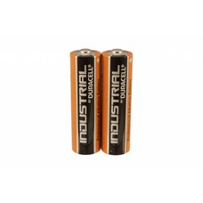 AA LR6 LR06 penlite batterijen Duracell industrial folie 2 stuks