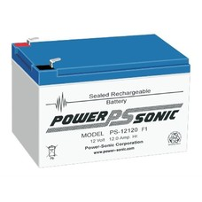 Loodaccu Powersonic 12V 12 Ah PS-12120H F1