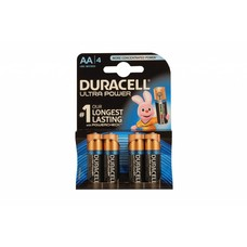 AA batterijen Duracell ultra power blister 4 stuks