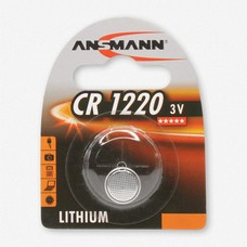 CR1220 3V Ansmann lithium knoopcel batterij (3 Volt)