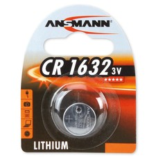 CR1632 3V Ansmann lithium knoopcel batterij (3 Volt)