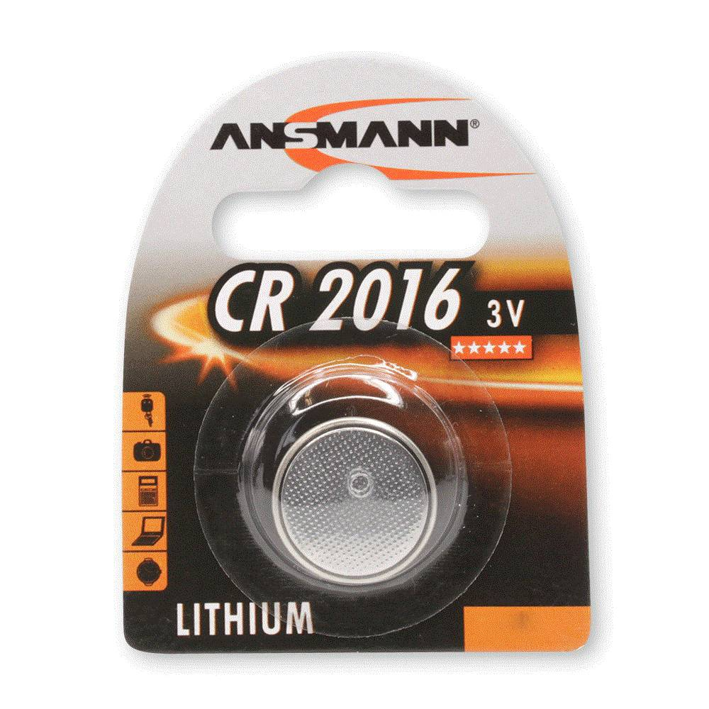 3 volt ansmann cr2016 knoopcel batterij kopen. Black Bedroom Furniture Sets. Home Design Ideas