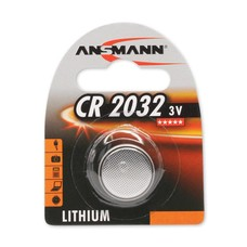 CR2032 3V Ansmann lithium knoopcel batterij (3 Volt)