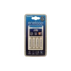 Eneloop 10 uurs batterijlader incl. 4 AA oplaadbare batterijen 2000 mAh