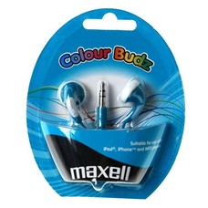 Maxell colour budz oordopjes