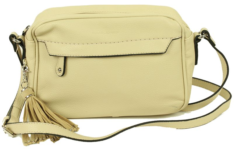David Jones Creme Schoudertas Sienna