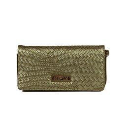 Bulaggi Braided Wallet Mid Bronze