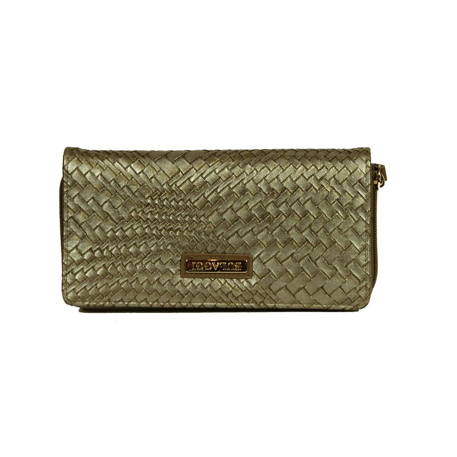 Bulaggi Braided Wallet Mid Bronze