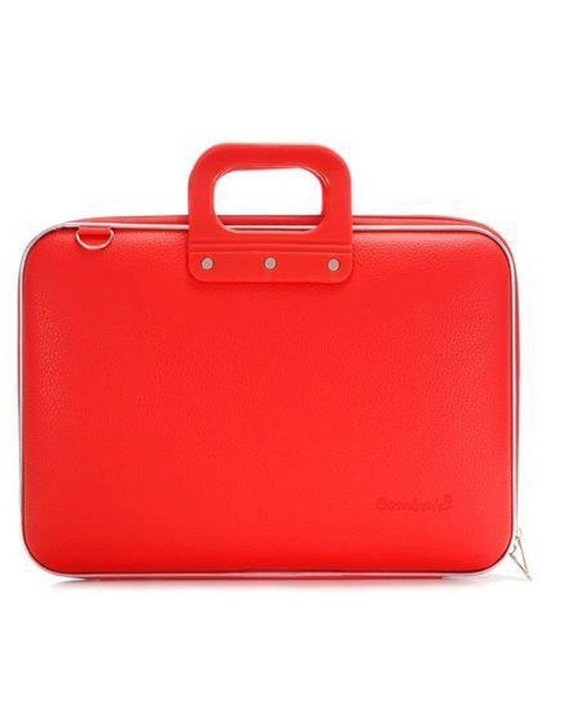 Bombata Bomba Classic Hardcase Laptoptas Red