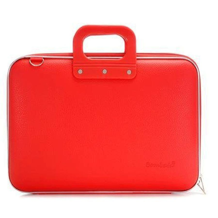 Bombata Classic Hardcase 15 inch Laptoptas Red