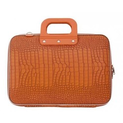 Bombata Croco Hardcase Laptoptas 15 inch Orange