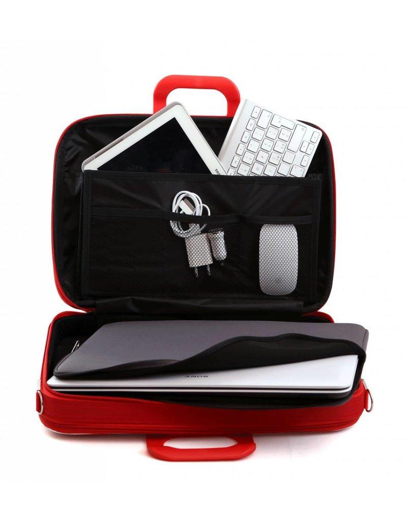 Bombata Classic Business Laptoptas Red