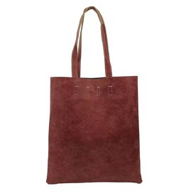 Kysma Street Fashion Shopper Bordeaux Rood