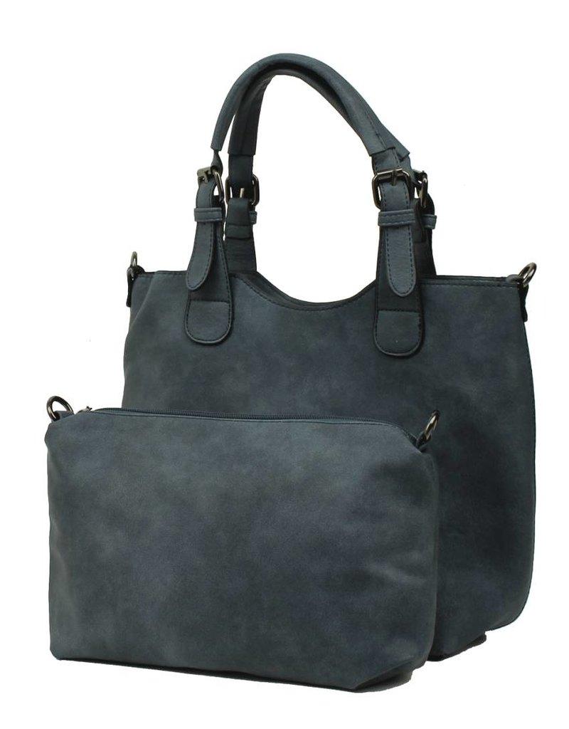Eternel Handtas Bag in Bag Blue