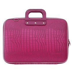 Bombata Croco 15 inch Hardcase Laptoptas Pink
