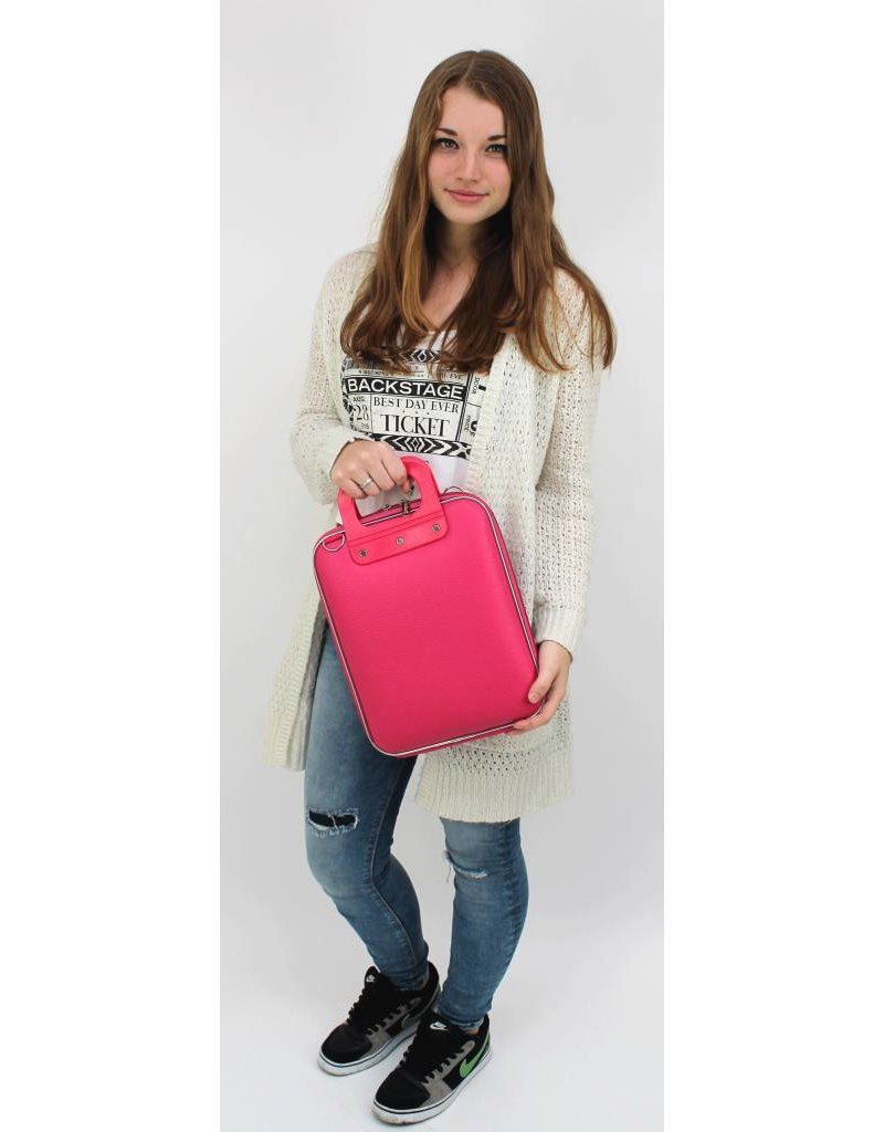Bombata Bomba Micro Tablet Briefcase Dark Pink