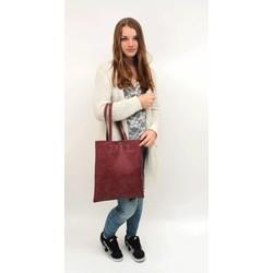 Street Fashion Shopper Bordeaux Rood