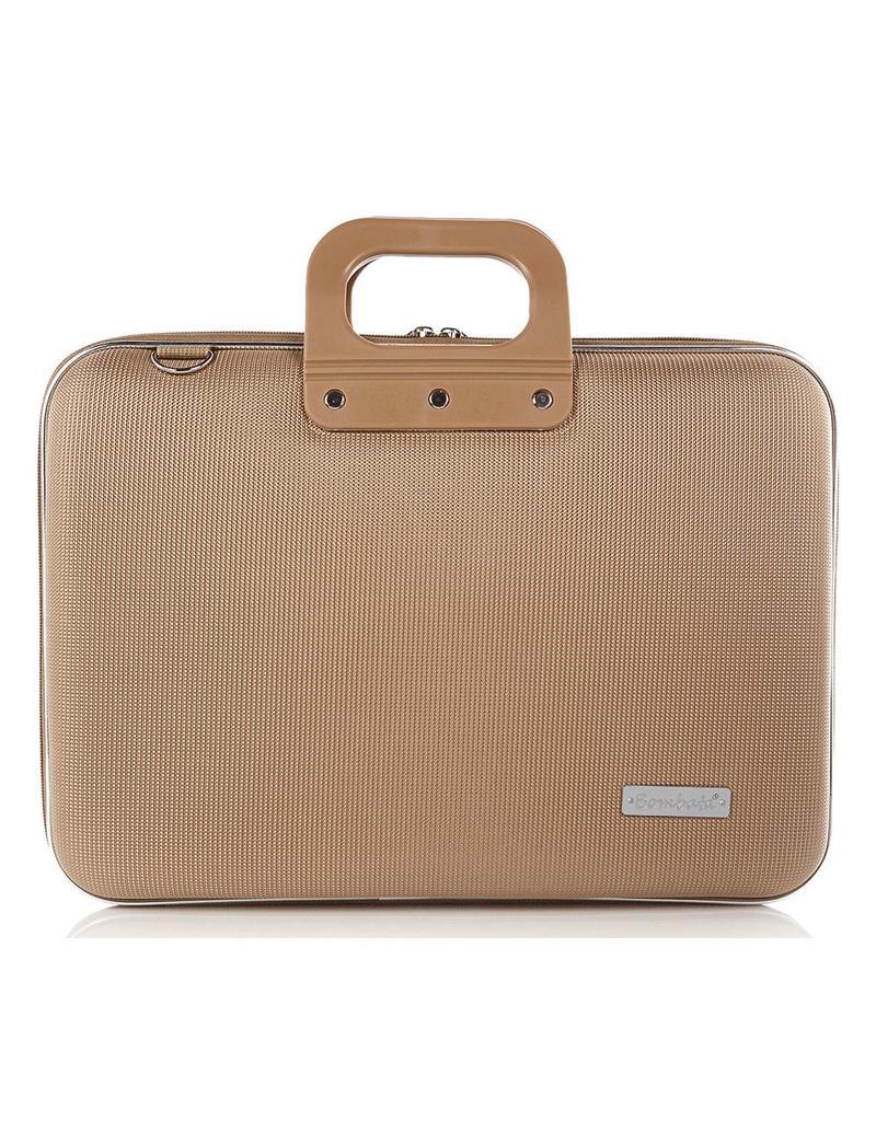 Schoudertas Laptop 13 Inch : Bombata nylon inch laptoptas taupe tassenwinkel