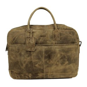 Burkely Victoria Laptop Bag 15,6 inch Taupe