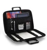 Bombata Bomba Classic Hardcase Laptoptas Charcoal Grijs