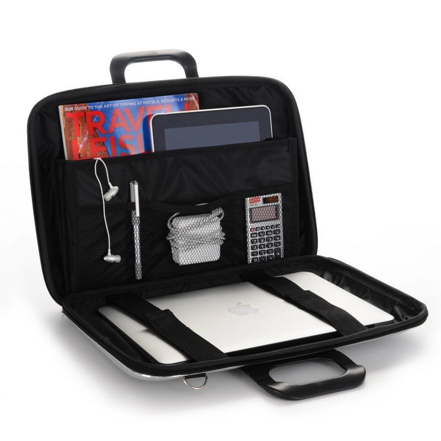 Bombata Classic Hardcase 15 inch Laptoptas Charcoal Grijs
