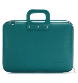 Bombata Maxi 17 inch Laptoptas Teal Blue