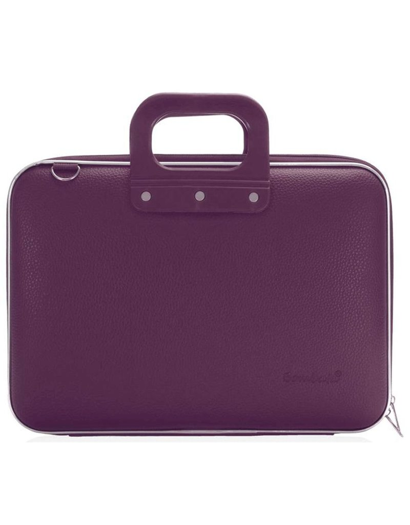 Bombata Bomba Maxibomba Hardcase Laptoptas Plum Purple