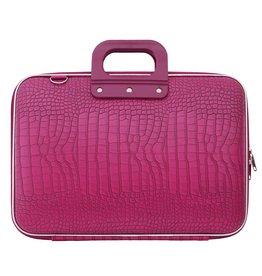 Bombata Cocco Maxi 17 inch Laptoptas Dark Pink